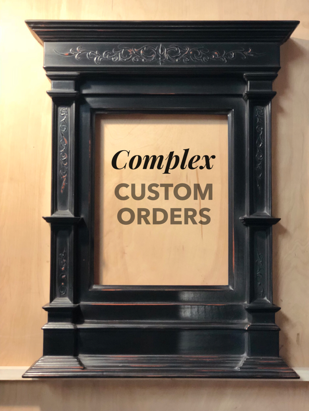 Click the image for Simple Custom Orders
