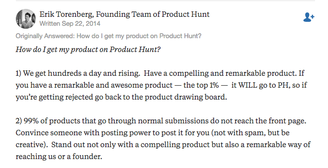 Erik Torenbery, Founding Team of Product Hunt
