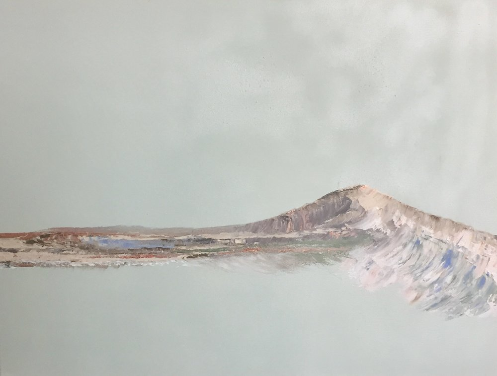 24 x 30 on canvas | 'mountain V' | SOLD