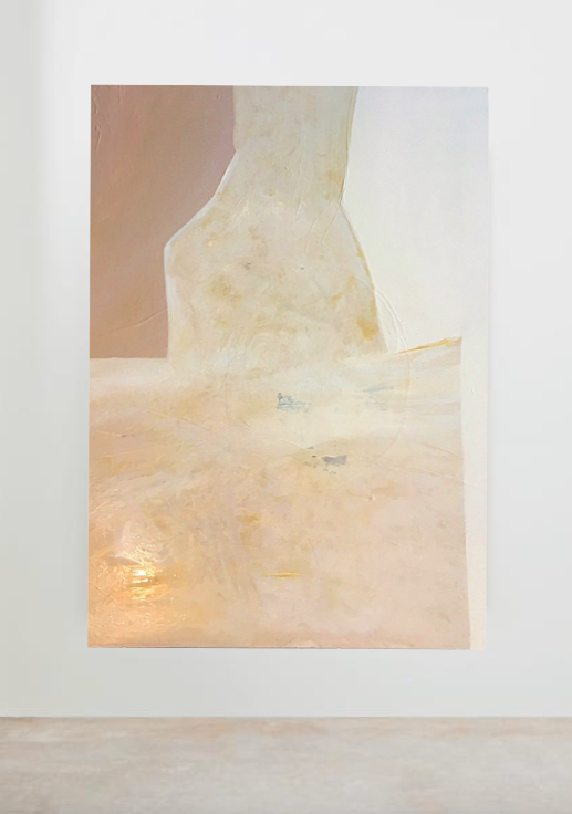 available June 1 through Serena & Lily   'teenage sculpture'   30' x 40' acrylic on canvas   available