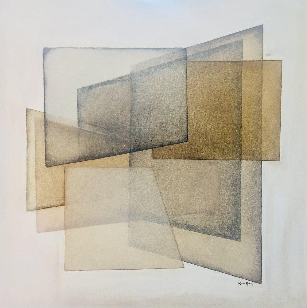 36 x 36 acrylic on canvas | available through Gallery1930 + Design Supply | Birmingham
