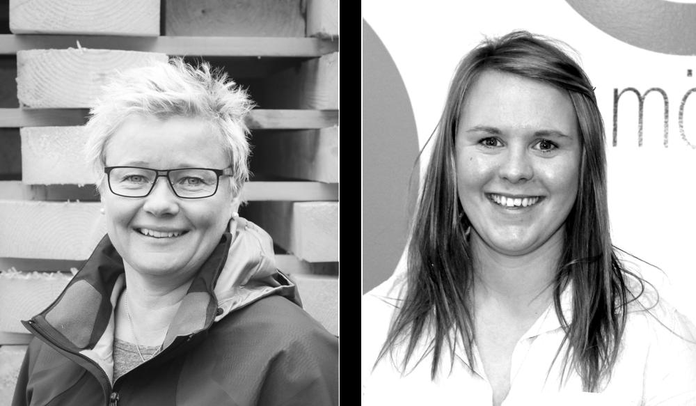 Anneli Andelén och Karin Torstensson