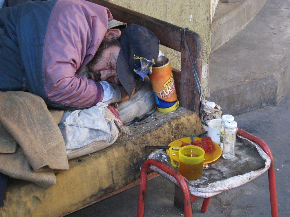 SUEÑO PERDIDO<BR>La Boca, Buenos Aires - 2008