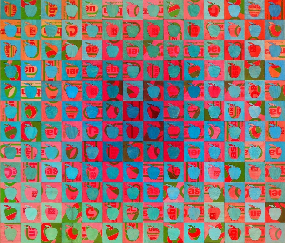 Vasarely's orchard