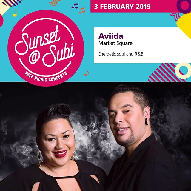 Don't miss the final Sunday afternoon performance for the City of Subiaco's free sunset@subi summer concert series as @aviidaduo takes the stage this Sunday at Market Square. Featuring Perth's very own powerhouse singer Paula Parore and soul man Clay Petera, who found success on The Voice, the duo will perform energetic soul and R&B songs that will have you on your feet!⠀ .⠀ .⠀ .⠀ #Spiritevents #pertheventmanagement #pertheventmanager #cityofsubiaco #cityofsubi #subiaco #marketsquare #sunsetatsubi #sundaysession #sundaysesh #whatsonperth #eatdrinkperth