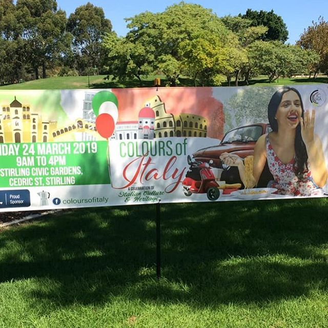 Did you know that this week is Harmony Week? So it's the perfect time to celebrate Australian multiculturalism, and the successful integration of migrants into our community! So join us this Sunday at Perth's inaugural Italian Festival at Stirling Civic Gardens.⁣⠀ 📷 @coloursofitaly_wa . .⁣⠀ .⁣⠀ #spiritevents #pertheventmanagement #pertheventmanager #italianfestival #perthitalianfestival #cityofstirling #harmonyweek⁣⠀ #tasteofharmony #thingstodoinperth #perthsmallbusiness #harmonyday #perthevents #repost