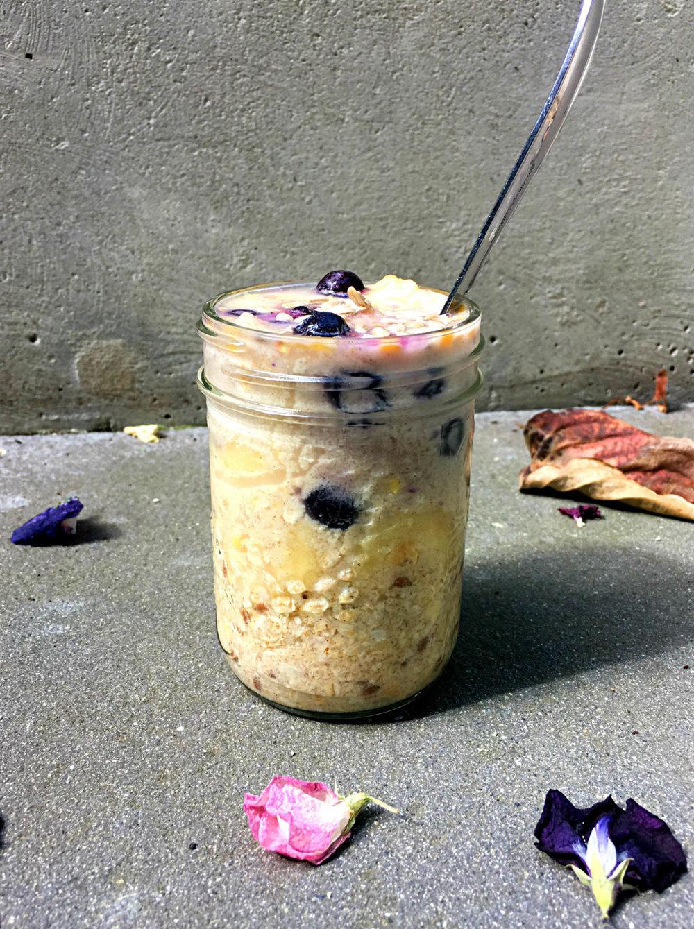 blueberry-banana-oats