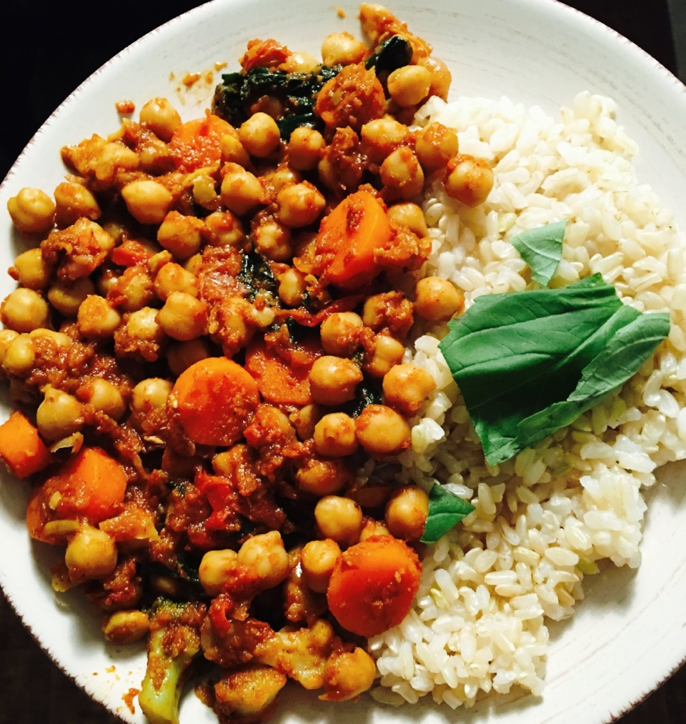 healthy-veggie-chana-masala