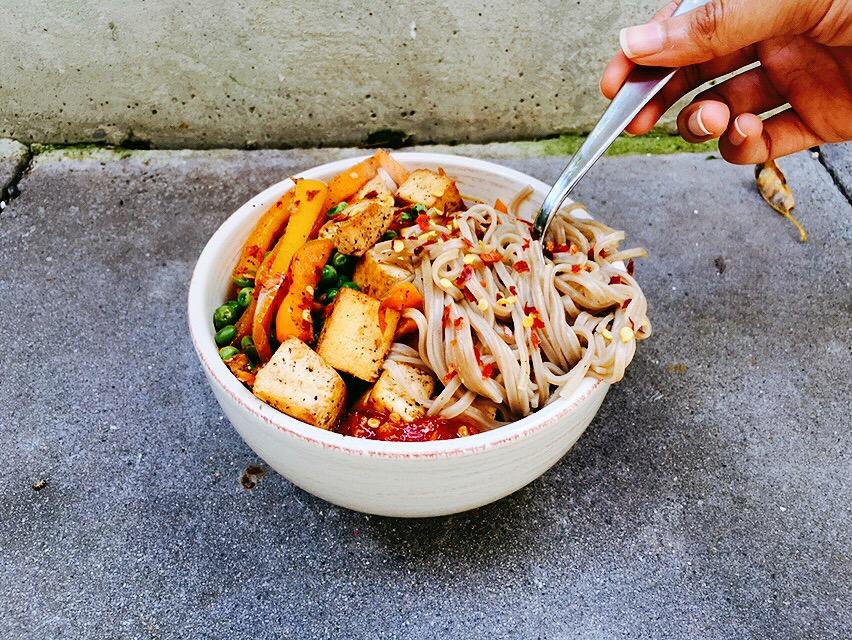 soba-tofu-noodle-bowl