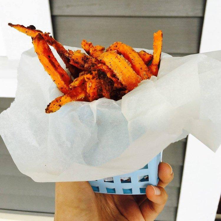 Crispy Baked Yam Fries
