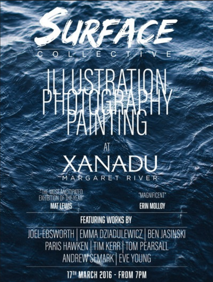 Surface Collective - Xanadu Margaret River - March 2106