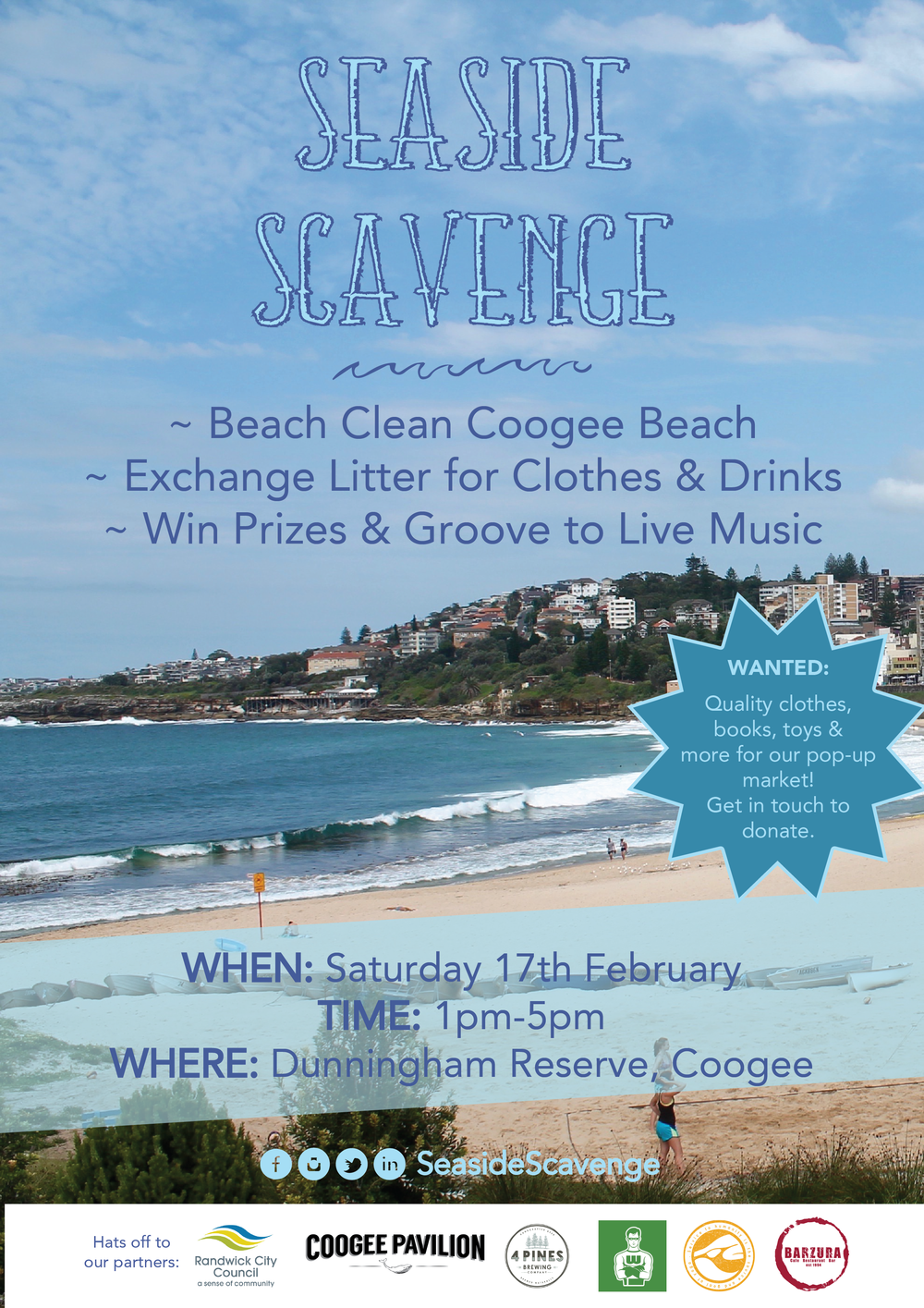 Coogee Scavenge Poster.png