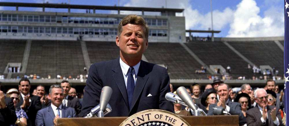 JFK at Rice Stadium, 12 September 1962