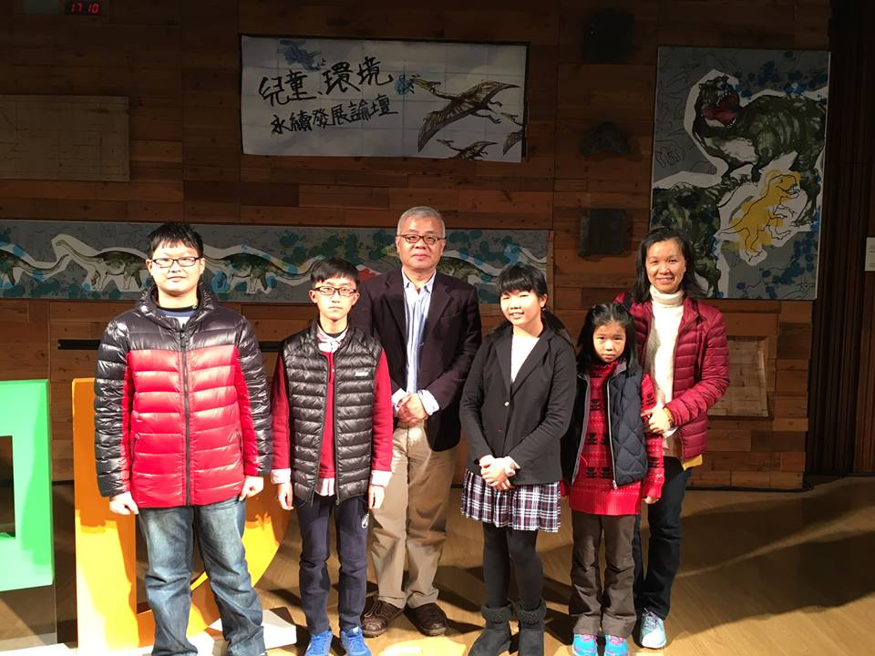 Child Authors, pictured with Ying-Shih Hseih, VoFG Goodwill Ambassador for Asia