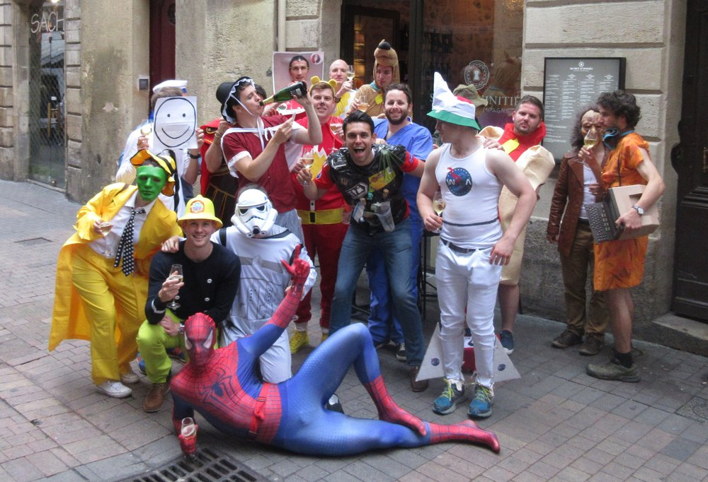 The stag group in Bordeaux