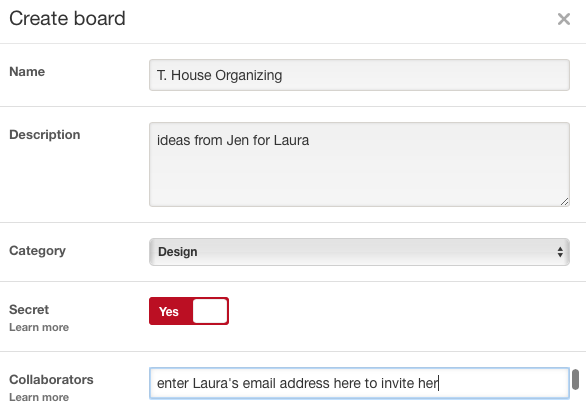 How to create a secret client board for professional organizers  |  www.proorganizerstudio.com