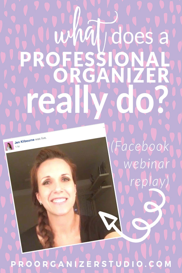 Learn what a typical day in the life of a professional organizer is like, plus what Jen takes along in her professional organizing toolkit.