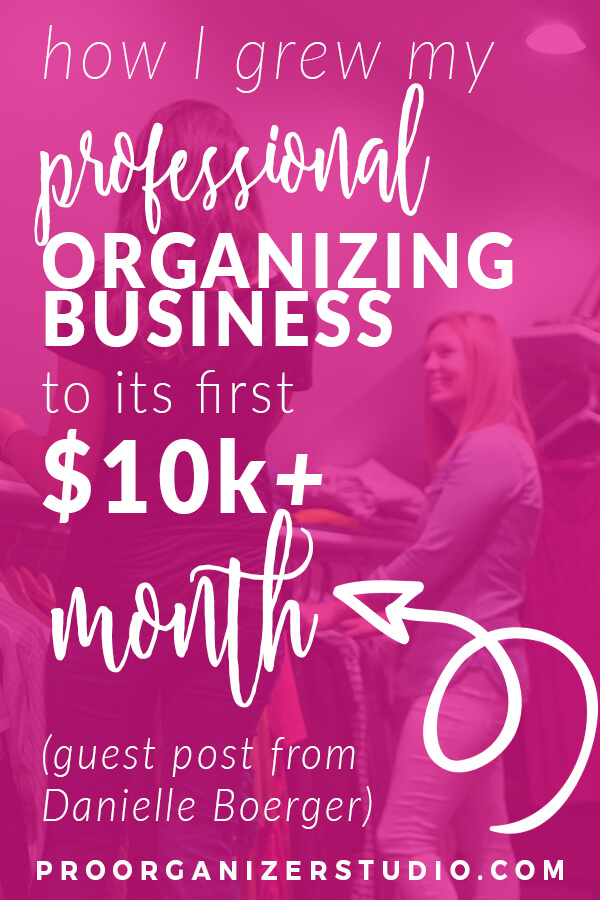 Learn about the income potential for a professional organizing business at Pro Organizer Studio