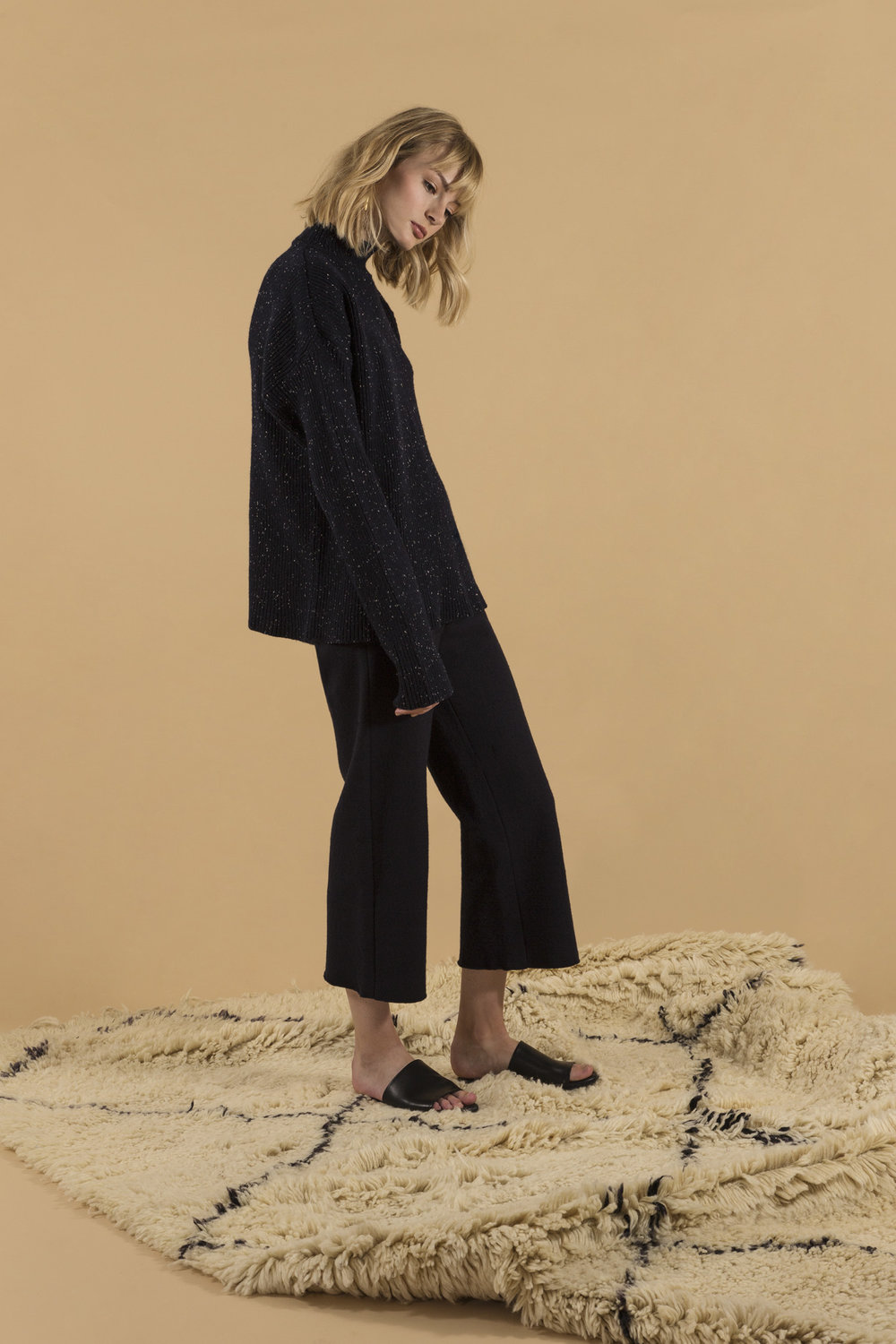 Philippa sweater navy and Alice culottes, full body.jpg