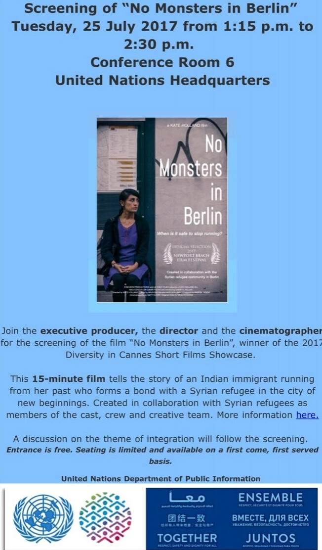 BLOG & NEWS — NO MONSTERS IN BERLIN - film