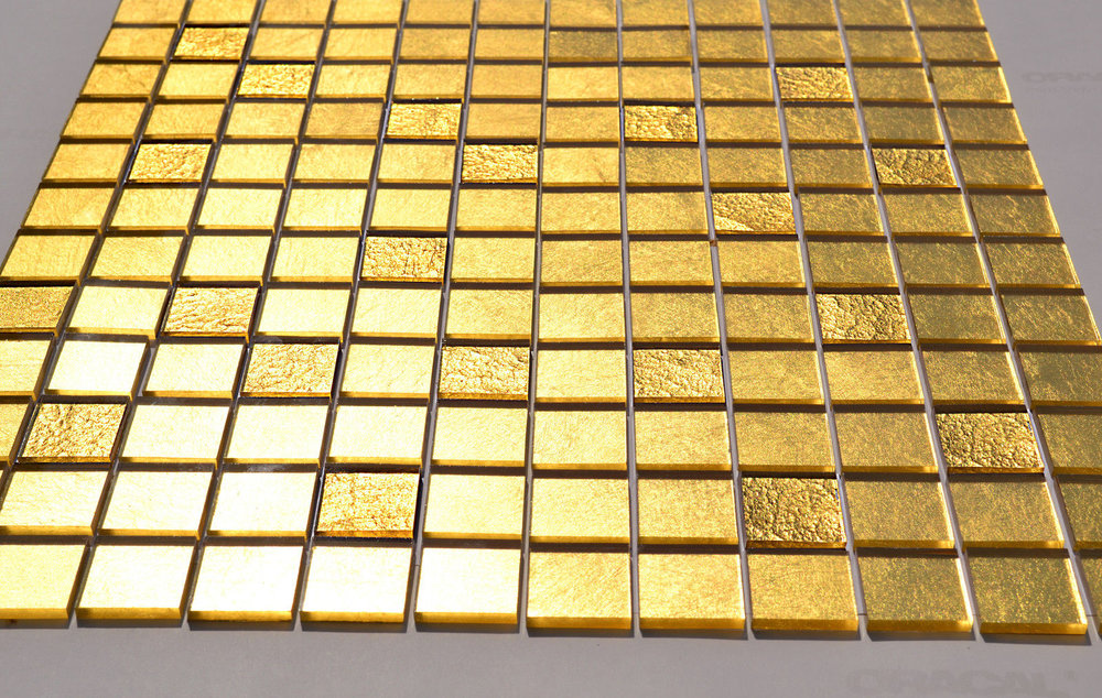 GOLD WALL MOSAICS  From £1,920 per square metre