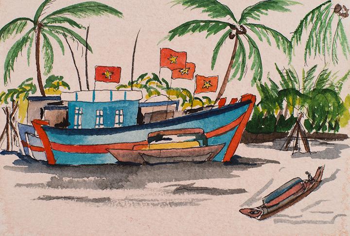 Squid Fleet Viet Nam