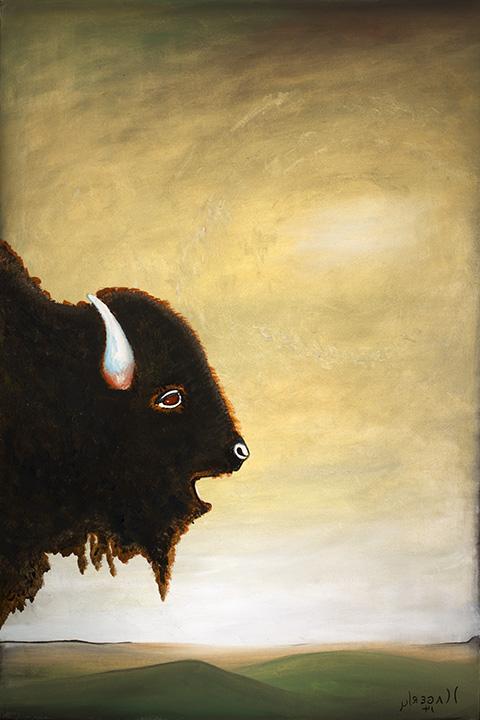My Bull Portrait