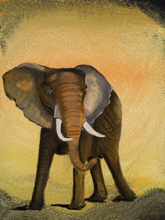 Lewa Elephant