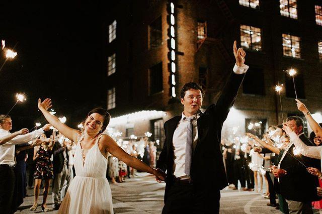 This is how you exit your wedding like a boss 🔥 . . . . #bluevinylphotography  #yourrockphotographers  #radlovestories #stylemepretty #firstandlast #makeportraits  #deepfeelingsmp  #chattanoogaweddingphotographer #nashvilleweddingphotographer #authenticlovemag #featureityall #featuremeoncewed  #peoplescreative #moodywedding #smpshareyourstory #loveintentionally #loveandwildhearts #gpresets #wanderingphotographers #muchlove_ig #meaningfulwedding #dreamweddingshots #photobugcommunity #wedphotoinspiration #weddingforward #dirtybootsandmessyhair #lovellope #junebugweddings #WDOfficial