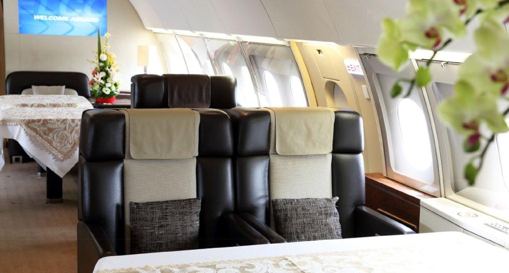 FlightForce ACJ-318 Seating