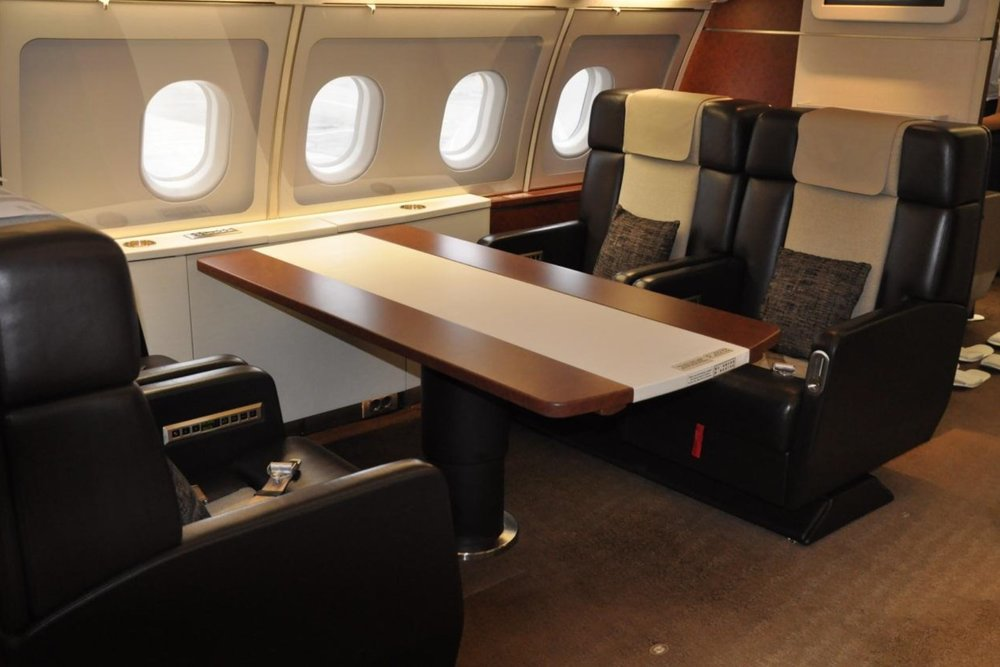 FlightForce ACJ-318 seat