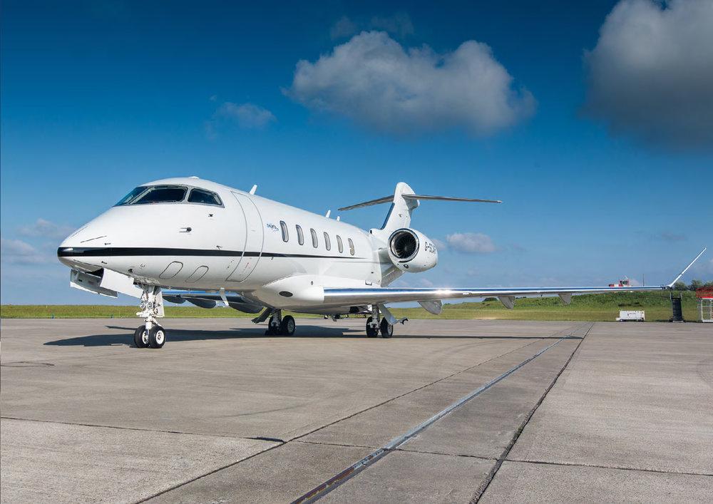 Flightforce business aviation bombardier challenger 350 SN20530