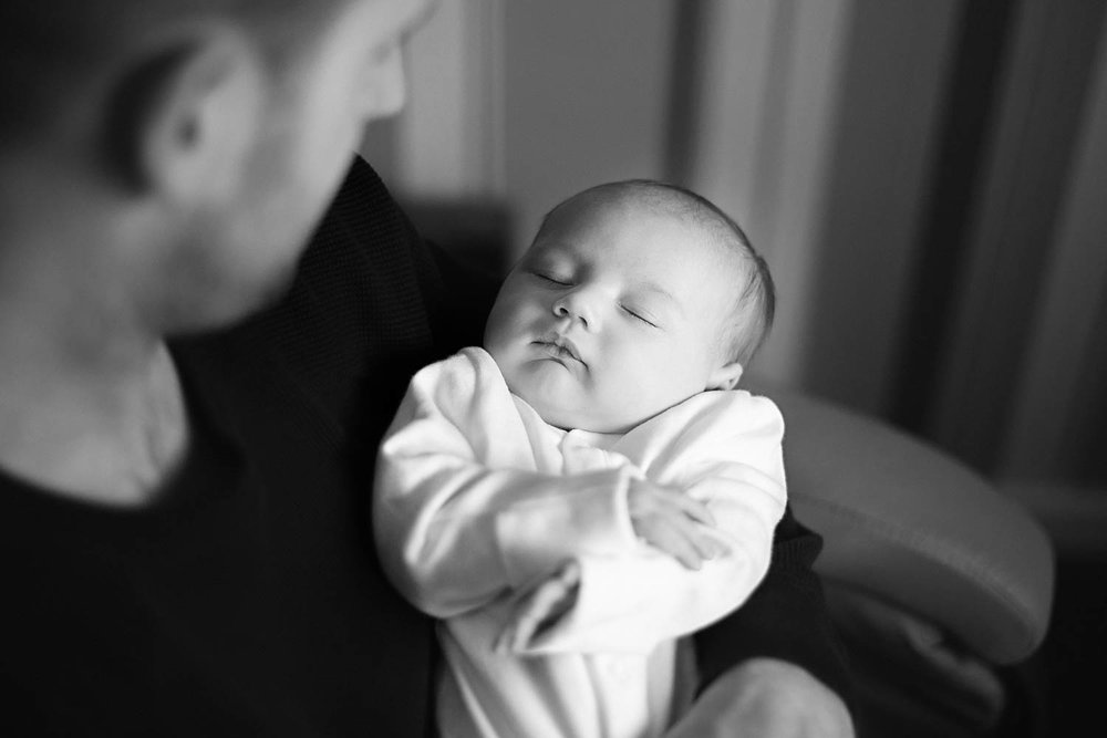 Newborn - Black and White - Lifestyle - Natural Portraits - Olney.jpg