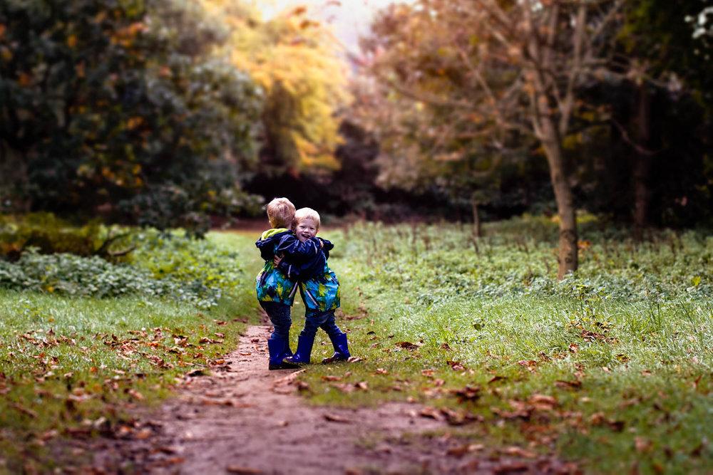 Child Portrait - Twins - Autumn - Bedford.jpg
