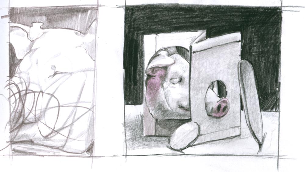 Skizzen zu Projekten — Julia Beier Illustration