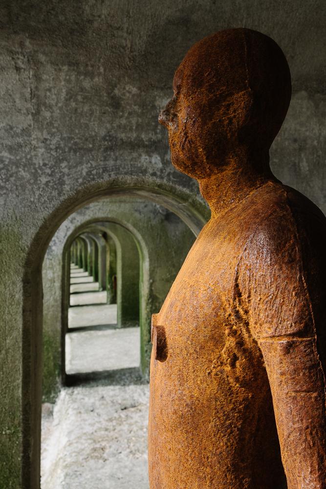 Second Antony Gormley sculpture on Folkestone seafront