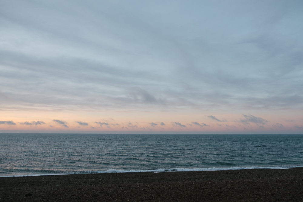 Sunrise over the English Channel