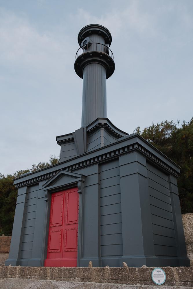 Hawksmoor-inspired beach hut