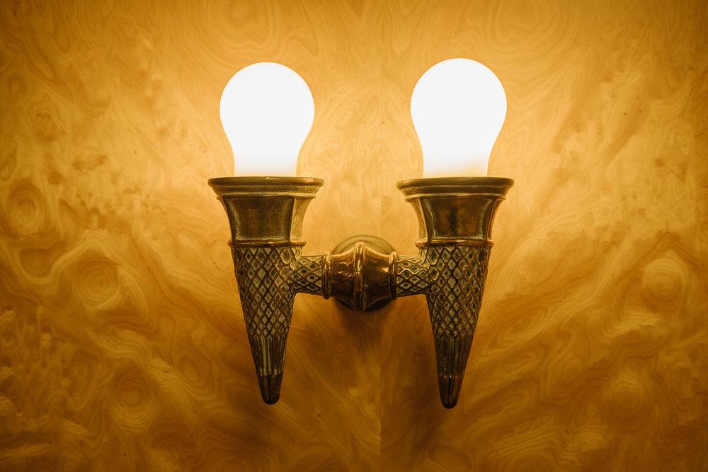 Morelli's ice-cream lamp