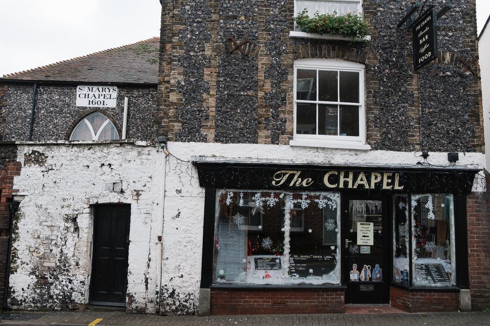 Outside The Chapel