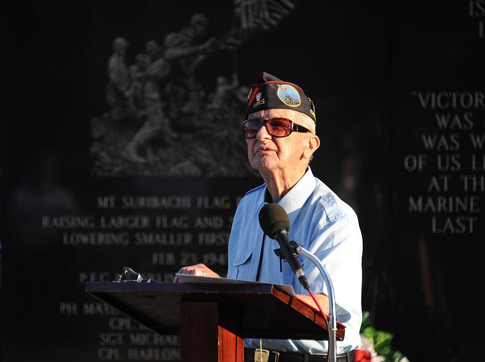 Iwo Jima Memory Still Vivid
