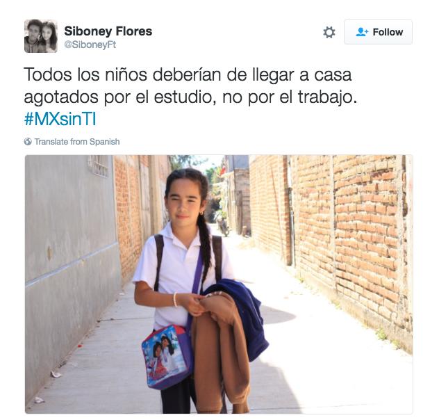 Siboney Flores: Sexto lugar