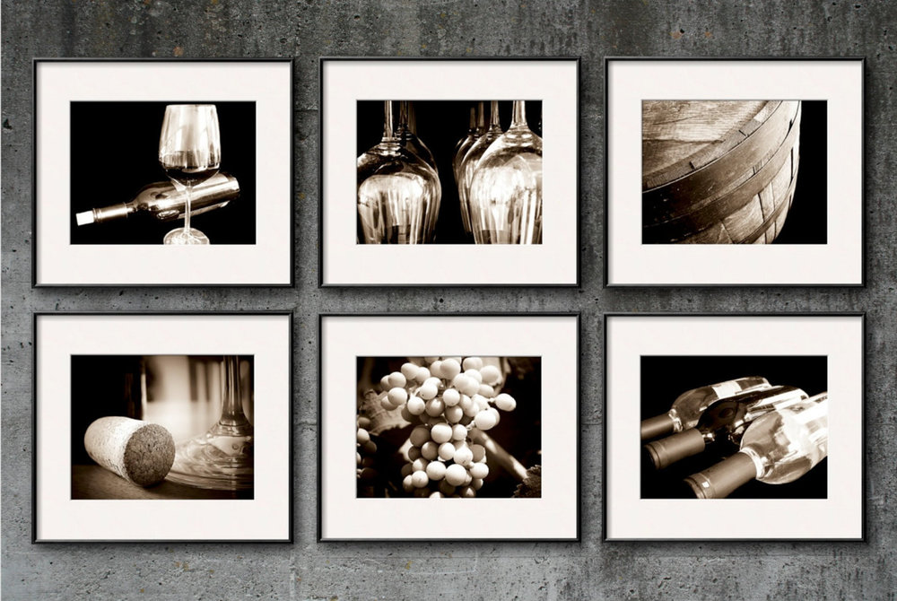 The Wine Enthusiast Collection | Kitchen + Dining Art for the Wine Lover. | As seen in the Napa Valley Grille, Westwood Village & GBK's 2012 Primetime Emmys Celebrity Gift Lounge