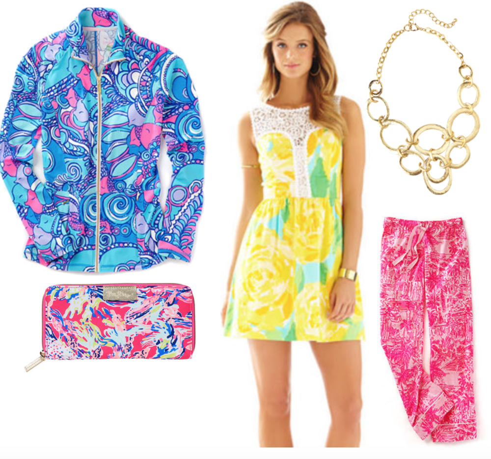 Let's not forget about my Lilly obsession... shop my wardrobe down below!