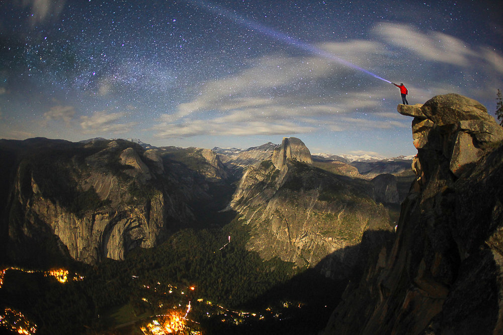 Light Beam at Glacier Point, Yosemite California