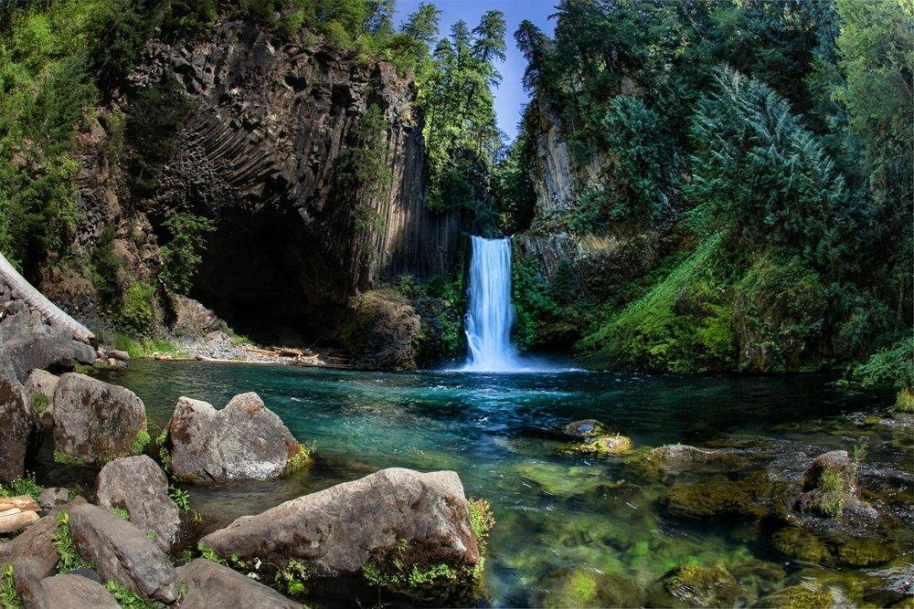 Toccata Falls, Oregon