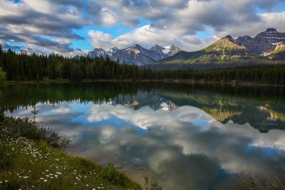 Herbert Lake, IceFields Parkway Banff