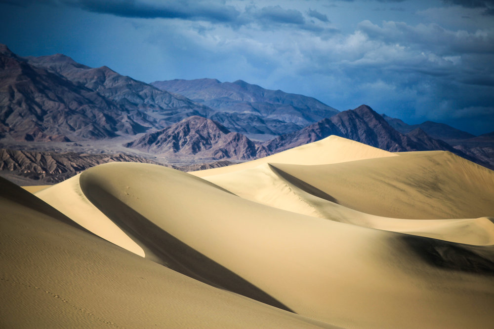 Mesquite Sand Dunes, Death Valley California