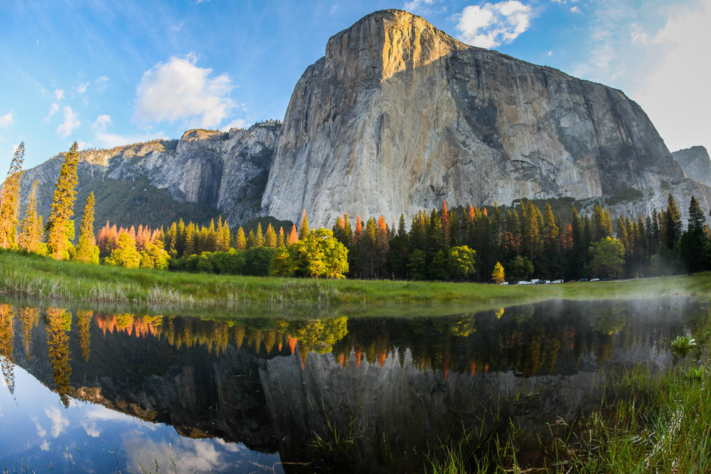El Capitan reflection, Yosemite California