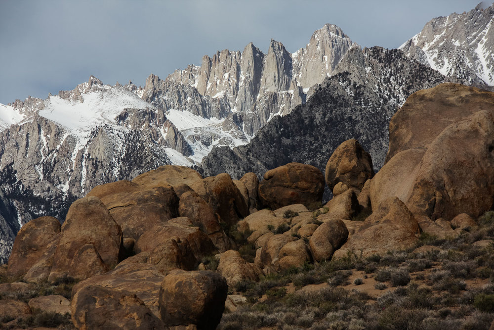 The Alabama Hills, California